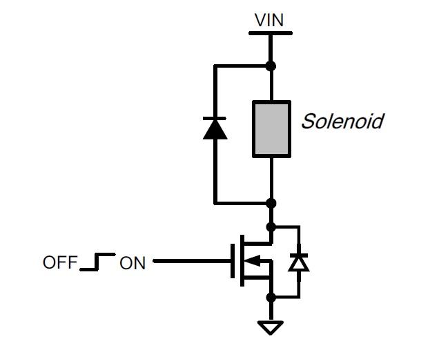 Figure 3: Simple Solenoid Driver