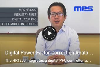 HR1200 Digital CCM PFC LLC Combo Controller